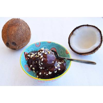 Επιδόρπιο Παγωτό με Γάλα Καρύδας - 3 Υλικά!