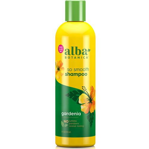 Σαμπουάν με Γαρδένια για Φριζαρισμένα & Ξηρά Μαλλιά 'So Smooth' (355ml) Alba Botanica