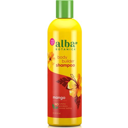 Σαμπουάν με Μάνγκο για 'Ογκο 'Body Builder' (355ml) Alba Botanica