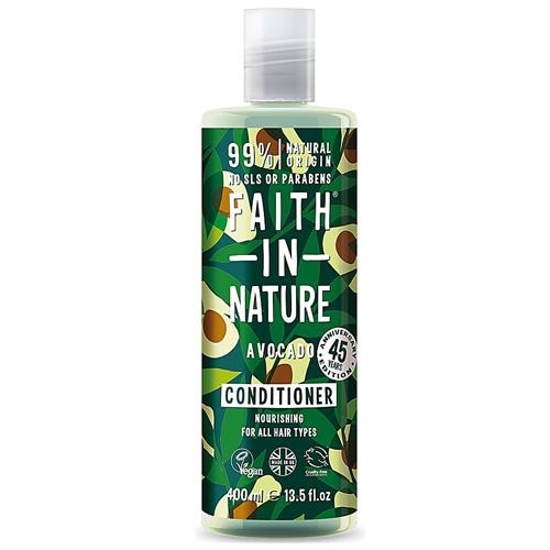 Μαλακτικό Μαλλιών με 'Αβοκάντο' - Όλοι οι Τύποι Μαλλιών (400ml) Faith in Nature