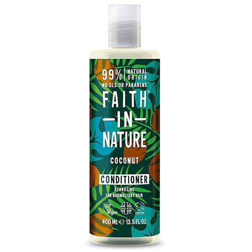 Μαλακτικό Μαλλιών με 'Καρύδα' - Κανονικά/Ξηρά Μαλλιά (400ml) Faith in Nature