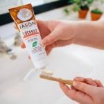 Λευκαντική Οδοντόκρεμα - Xωρίς Φθόριο - με κρέμα Καρύδας (119γρ) Jason