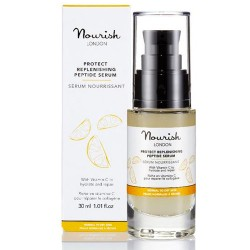 Ενυδατικό Serum με Βιταμίνη C 'Protect Replenishing' (30ml) Nourish London