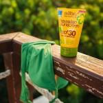 Αντηλιακή Κρέμα Σώματος & Προσώπου 'Αλόη Βέρα' SPF 30 - Φυτικό/Βιοδιασπώμενο (113γρ) Alba Botanica