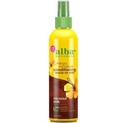 Leave-In Ενυδατική Κρέμα Μαλλιών με Γάλα Καρύδας (237ml) Alba Botanica