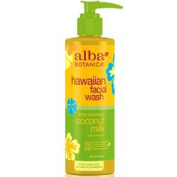 Καθαριστικό Προσώπου με Ενυδατικό Γάλα Καρύδας 'Hawaiian Wash' (237ml) Alba Botanica