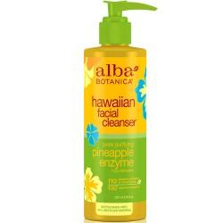 Καθαριστικό Προσώπου με Ένζυμα Ανανά & Παπάγιας 'Hawaiian Cleanser' (237ml) Alba Botanica