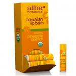 Lip Balm Χειλιών με Λάδι Καρύδας κ' Ανανά 'Hawaiian Pineapple' (4.2γρ) Alba Botanica