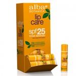 Αντηλιακό-Υποαλλεργικό Lip Balm Χειλιών με SPF 25 (4.2γρ) Alba Botanica