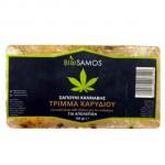 Σαπούνι Κάνναβης με Τρίμμα Καρυδιού για Απολέπιση (100γρ) Biosamos