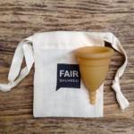 Κύπελλο Περιόδου από Fair Trade Φυσικό Καουτσούκ (Μέγεθος M) Fair Squared