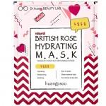 Φυσική full-face Μάσκα Ενυδάτωσης με British Rose - Κανονικό Δέρμα (1τμχ) Huangjisoo
