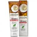 Λευκαντική Οδοντόκρεμα - Xωρίς Φθόριο - με κρέμα Καρύδας (120γρ) Jason