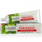 Φυτική Οδοντόκρεμα Χωρίς Φθόριο PowerSmile® Mέντα (170γρ) Jason