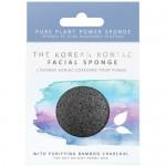 Φυσικό Σφουγγάρι Προσώπου από Konjac & 'Ανθρακα Μπαμπού 'Puff' The Konjac Sponge Company