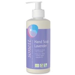 Υγρό Σαπούνι 'Λεβάντα' για Χέρια, Πρόσωπο, Σώμα (300ml) Sonett