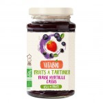 Επάλειμμα Φράουλα, Μύρτιλο & Φραγκοστάφυλλο - Χωρίς Προσθήκη Ζάχαρης (290γρ) Vitabio