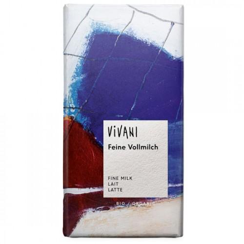 Σοκολάτα Γάλακτος (100γρ) Vivani