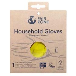 Βιοδιασπώμενα Γάντια Οικιακής Χρήσης (Μέγεθος L) Fair Zone