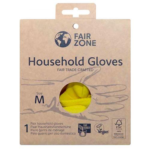 Βιοδιασπώμενα Γάντια Οικιακής Χρήσης (Μέγεθος M) Fair Zone