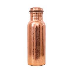 Σκαλιστό Χάλκινο Μπουκάλι Νερού (600ml) Forrest & Love