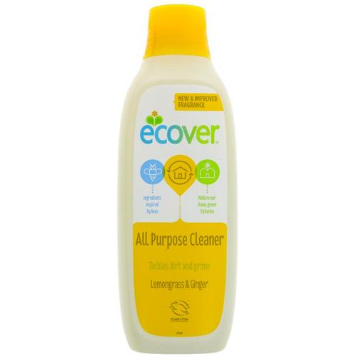 Υγρό Γενικού Καθαρισμού 'Λεμονόχορτο & Τζίντζερ' Φυσικό/Βιοδιασπώμενο (1L) Ecover