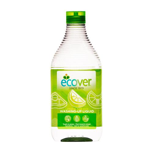 Υγρό Πιάτων 'Λεμόνι & Αλόη Βέρα' Φυσικό/Βιοδιασπώμενο (450ml) Ecover
