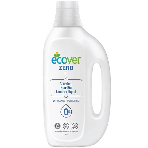 Υγρό Απορρυπαντικό Ρούχων 'ZERO' Χωρίς Άρωμα/Βιοδιασπώμενο (1.5L) Ecover
