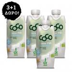 3 + 1 ΔΩΡΟ! Γάλα Καρύδας Φυσικό - Χωρίς Ζάχαρη (330ml) Dr. Martins