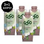 3 + 1 ΔΩΡΟ! Γάλα Καρύδας με Κακάο - Χωρίς Ζάχαρη (330ml) Dr. Martins