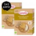 1+1 ΔΩΡΟ! Κρέμα 3 Δημητριακών +6μ - Χωρίς Ζάχαρη (2x200γρ) Babybio