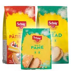 Αλεύρια 'Mix Bread' + 'Mix C' με ΔΩΡΟ 'Mix Bread' των 500γρ - Dr. Schar