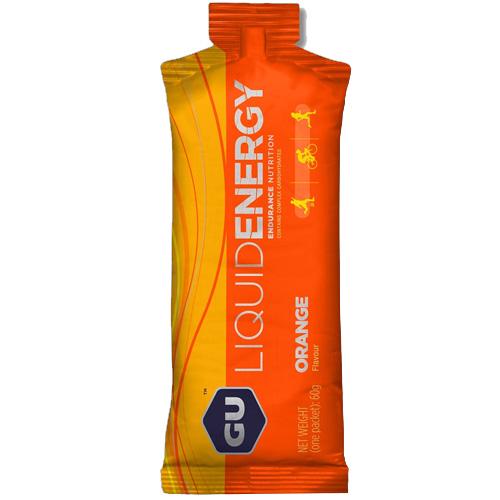 GU Liquid Energy - Υγρό Ενεργειακό Τζελ 'Πορτοκάλι' με 20mg Καφεΐνη (60γρ) GU