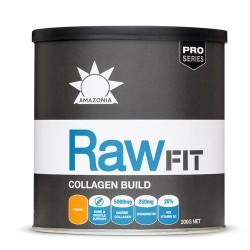 Κολλαγόνο με Χονδροϊτίνη & Βιταμίνες C & D 'RawFit Collagen Build' (200γρ) Amazonia