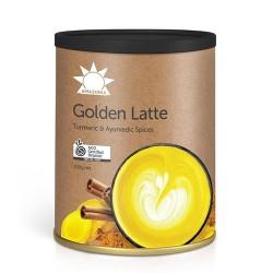 Ρόφημα Κουρκουμά με Αγιουρβεδικά Μπαχαρικά 'Golden Latte' (100gr) Amazonia