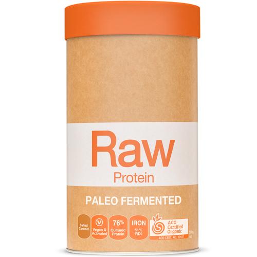 Πρωτεΐνη 'Paleo' από Σπόρους - Αλατισμένη Καραμέλα (500γρ) Amazonia