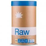 Ωμή Φυτική Πρωτεΐνη για Απώλεια Βάρους 'Slim &Tone' Βανίλια/Κανέλα (1kg) Amazonia