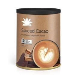 Ρόφημα Ωμό Κακάο με Αγιουρβεδικά Μπαχαρικά 'Spiced Cacao' (100gr) Amazonia