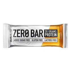 Μπάρα Πρωτεΐνης 'Zero Bar Mηλόπιτα' - Χωρίς Γλουτένη/Ζάχαρη (50γρ) BioTech USA
