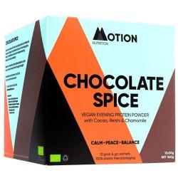 Vegan Πρωτεΐνη για Αποκατάσταση/Χαλάρωση το Βράδυ 'Chocolate Spice Evening' (360gr) Motion Nutrition
