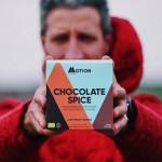 Φακελάκι - Vegan Πρωτεΐνη για Αποκατάσταση/Χαλάρωση το Βράδυ 'Chocolate Spice Evening' (30gr) Motion Nutrition