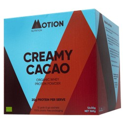 Πρωτεΐνη Ορού Γάλακτος 'Whey' Grass-fed με Ωμό Κακάο (360γρ) Motion Nutrition