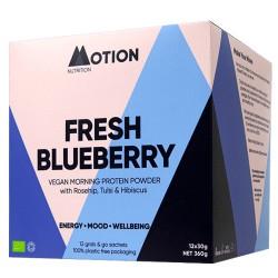 Vegan Πρωτεΐνη για Ενέργεια το Πρωί 'Fresh Blueberry Morning' (360gr) Motion Nutrition