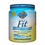 Ωμή Vegan Πρωτεΐνη για Κάψιμο Λίπους 'Fit' - Βανίλια (457gr) Garden of Life