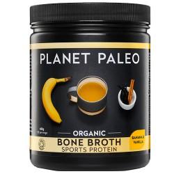 Πρωτεΐνη Ζωμού Οστών 'Bone Broth' με Μπανάνα & Βανίλια  (480γρ) Planet Paleo