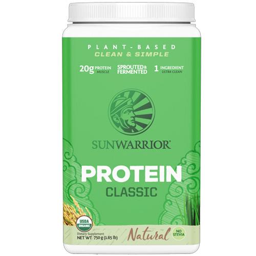 Πρωτεΐνη Φυτρωμένου Καστανού Ρυζιού 'Classic' Φυσική (750gr) Sunwarrior