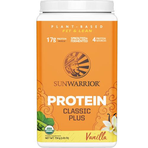 Πρωτεΐνη 'Classic Plus' Βανίλια (750γρ) Sunwarrior