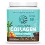 Vegan Πρωτεΐνη με Κολλαγόνο & Υαλουρονικό Οξύ 'Collagen Building Peptides' - Σοκολάτα (500γρ) Sunwarrior