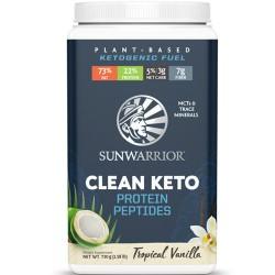 Πρωτεΐνη για Keto Διατροφή 'Clean Keto' - Τροπική Βανίλια (720γρ) Sunwarrior