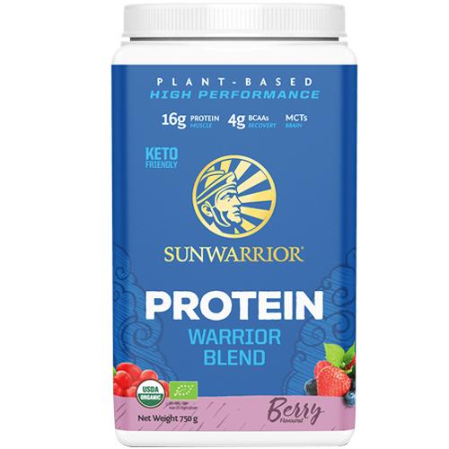 Πρωτεΐνη 'Warrior Blend' με Μούρα (750γρ) Sunwarrior